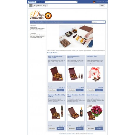 Module de liaison Facebook Prestashop : Shopializable