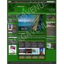 Prestashop Template : Green PopFlower