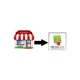 Transfert de votre boutique d'un autre système vers Prestashop