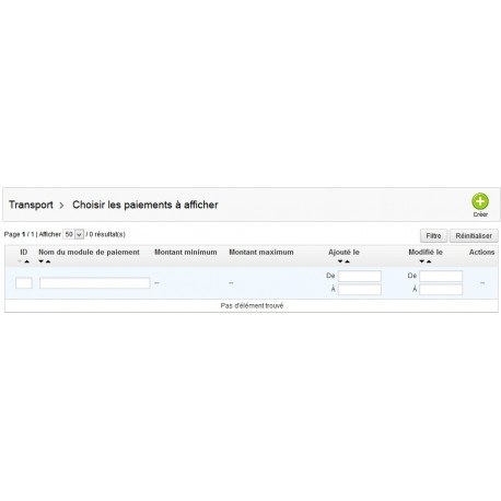 Module Prestashop pour afficher un paiement en fonction du montant du panier
