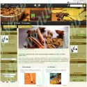 Spices Prestashop Template : horizontal dropdown menu