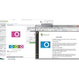 Fiche produit vers PDF