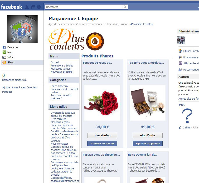 Nouvelle version des pages Facebook