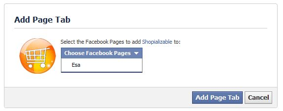 Application Facebook Prestashop shopializable